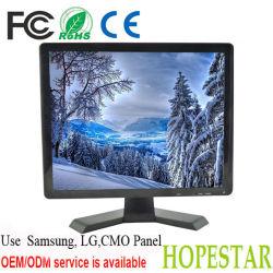 شاشة تلفزيون LCD من نوع BNC VGA TFT 15 بوصة مزودة بشاشة CCTV