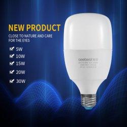 Nova Atualização SKD matérias-primas a poupança de energia E27 B22 Lâmpada LED barata 5W/10W/15W/20W/30W a lâmpada de xénon
