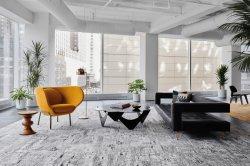 ウールの絹の敷物の現代様式デザインのためのAxminsterの敷物及びカーペット