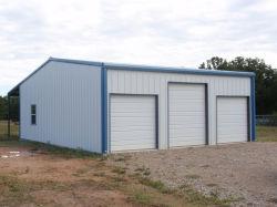 Structure légère en acier préfabriqués Garage métallique du bâtiment (KXD-SSB1188)