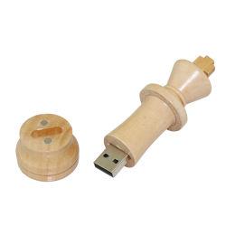 100PCS/Lot木USB 2.0 USBのフラッシュ駆動機構4GB 8GB 16GB 32GB 64GBのチェスのペン駆動機構USBのメモリ棒UのディスクによってカスタマイズされるロゴのギフトUSB