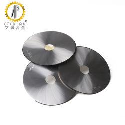 Lames de carbure solide circulaire cimenté Disque rond Fraises en carbure