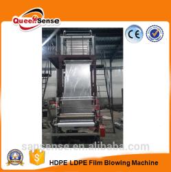 Parafuso 65 película PE máquina de sopro da película de LDPE HDPE QUEIMADO