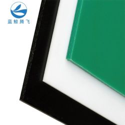 UHMWPE/HDPE/PTFE/PE/폴리에틸렌 부식 방지/방수 골판지 플라스틱 시트