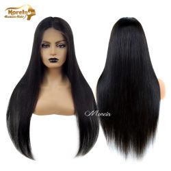 100 % des cheveux soyeux perruque de cheveux brésiliens droites