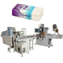 Serviette en papier tissu mouchoir de poche Making Machine repliable