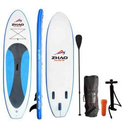 Drop Stitch تصميم مخصص من قبل OEM ألواح التزلج على الأمواج لوح المجداف الطويل لمنصة ركوب الأمواج