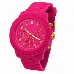 الخوف من شراء ساعة سيليكون (سيليكون شاهد 004)
