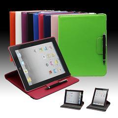 voor het Geval van het iPadPu Leer met SGS Goedkeuring