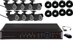 가정 (AE-H1308V+AES31B)를 위한 감시 카메라 장비