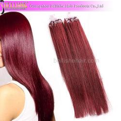 Promoção de Natal 8%! ! ! 100% Remy Duplo ciclo Brasileiro Anel Micro Extensões de cabelo