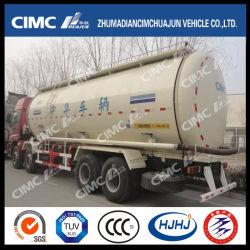 Cimc Huajun 8*4 chasis/cemento en polvo en China el depósito de la marca carretilla