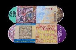 Digisleeves Packing の音楽 CD レプリケーション