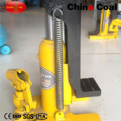 Strumenti ferroviari idraulici di sollevamento Jack del carbone Hj5 della Cina mini