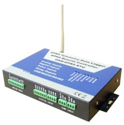 Wireless GPRS GSM SMS RTU, Registrador de datos del Sistema de Telemetría (6AIN/6DIN/4Dout/1RS485)