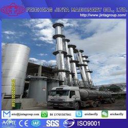 Açúcar de cana planta de destilação de etanol combustível
