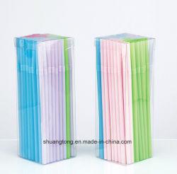 Sucker Comprar en línea china de paja de agua potable de plástico, bolsas de PVC