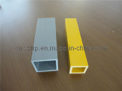 FRP индивидуальные квадратные трубы с гладкой поверхностью