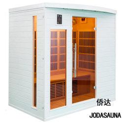 Mini populares Branco Portátil Sauna Sauna de Infravermelhos para 4 Pessoas