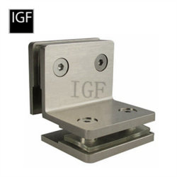 La qualité en laiton ou acier inoxydable Collier en Verre (GC-604)
