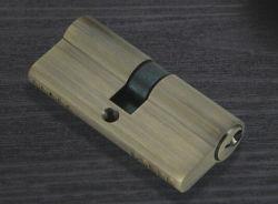 Cylindre de verrouillage de porte en laiton massif Euro Profile - Série de clés normales
