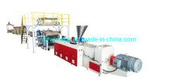 Spc Lvt Línea de extrusión de la producción de baldosas de suelo que hace la máquina