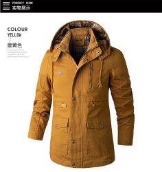 Heren kleding van de jas Casual Windbreaker Bomberjack Overalls Casual Cotton Jas met capuchon