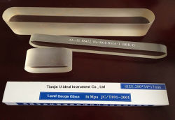 Transparentes Hochdruckaluminiumsilikon-Platte-Richten ausgeglichenes Borosilicat-Glasglas Glas aus