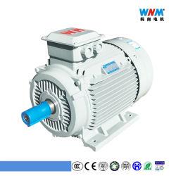 高性能Ie2 Yx3フレーム80/90/100 Wnmモーターからのポンプ空気圧縮機のギヤボックスの減力剤のファン送風器のミキサーのための三相AC電動機1.1kw 1.5HP
