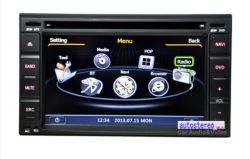 Car Stereo GPS DVD Player Satnav Headunit for Hyundai / Nissan