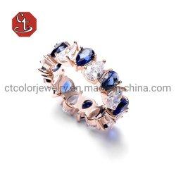 O zircão cúbicos prata ou o anel de latão Jóias de vendas quente Anel de luxo para Mulheres Luxury jóias de prata