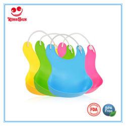 Goedgekeurd FDA van de Slab van de Baby van het Silicone van de Zorg van de Baby van Eco Vriendschappelijke Waterdichte Zachte