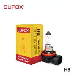 Hot-Selling Lâmpada farol H1 H3 H4 H7 H8 9005 9006 Aluguer de luz da lâmpada de halogéneo