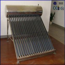 aço inoxidável integrado não aquecedor solar de água de Pressão
