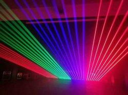 디스코 점화 DMX 빨강 녹색 및 RGB 레이저 광