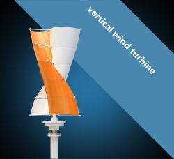 Kit met windturbines voor verticale as Alternatieve energiegenerator uit het elektriciteitsnet Hybride zonnewind krachtsysteem