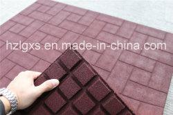 Top-Brick 1m*1m rouge stable tapis en caoutchouc, cheval de sol en caoutchouc