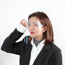 Fabricante de Inverno de estoque Antifog Splash Viseira Pet Die Corte Tampa da Face do protetor de rosto com a Proteção dos Olhos