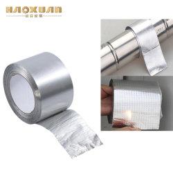 Impermeabilização de alumínio prateado de fita de emenda de metal flexível