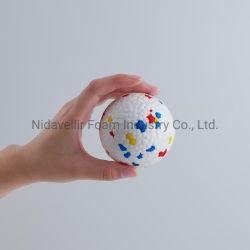 E-TPU로 만든 Bite Pruds용 PET Dog Toy Ball Mondrian 시리즈