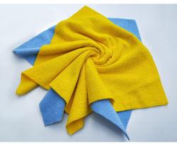 Hot Cut All-Purpose Microfiber Warp gebreide handdoek reinigingsdoeken