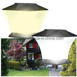 태양 강화된 LED 정원 빛 방수 옥외 기둥 담 램프