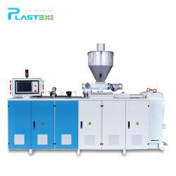 Techo de PVC/WPC de espuma de plástico de la máquina de extrusión de la línea de producción y girar la llave de proyecto