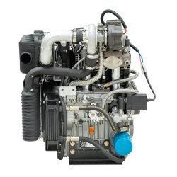 12-15kw zwei doppelte Syclinder Luft abgekühlter Dieselmotor/elektrischer Dieselmotor-Dieselmotor mit doppeltem Öl-Bad-Luftfilter