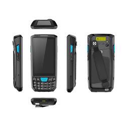 GPS WiFi van Reliablerfid 4.5inch IP66 4G NFC de Androïde Handbediende EindScanner PDA van de 1d/2D- Streepjescode met het Zachte Toetsenbord van het Silicone 21PCS