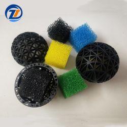 Bal Withspong van de Bal van de Filter van de Tank van het aquarium de Zwarte Plastic Bio voor de Vijver van Vissen