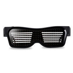 2020 occhiali di nuovo anno LED illuminano in su il partito infiammante di vetro degli occhiali per la festa di Natale