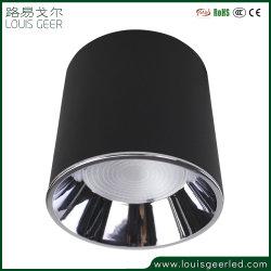 옥수수 속 공장 도매 실린더 LED 알루미늄 합금 표면에 의하여 거치되는 천장 빛 Downlight LED 점화