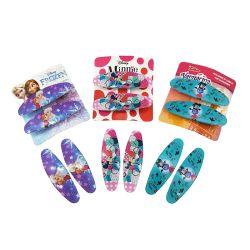 Nuovo design Frozen Fashion Wholesale Kids Fancy e Mini cute Accessori per capelli Cartoon Stampa di bellezza clip per capelli per ragazze
