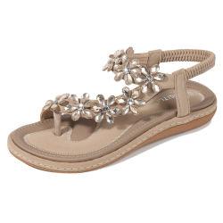 El verano de moda Dama zapatos Sandalia plana